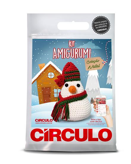 Circulo Cotton Amigurumi Kit - Snowman