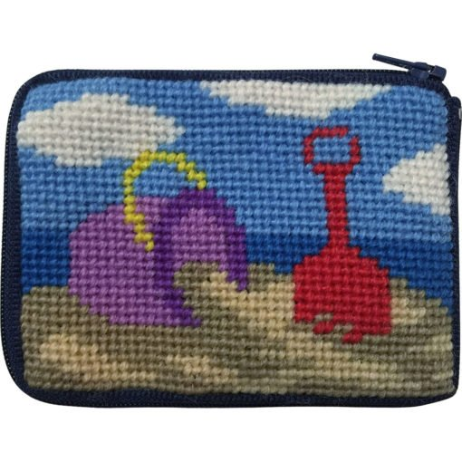Beach Play Stitch & ZIP Kids Coin Purse