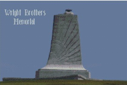 Wright Brothers Memorial 10x15 Graph