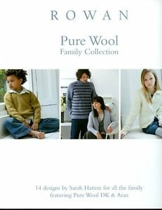 Pure Wool Family Collection by Rowan Pattern Book