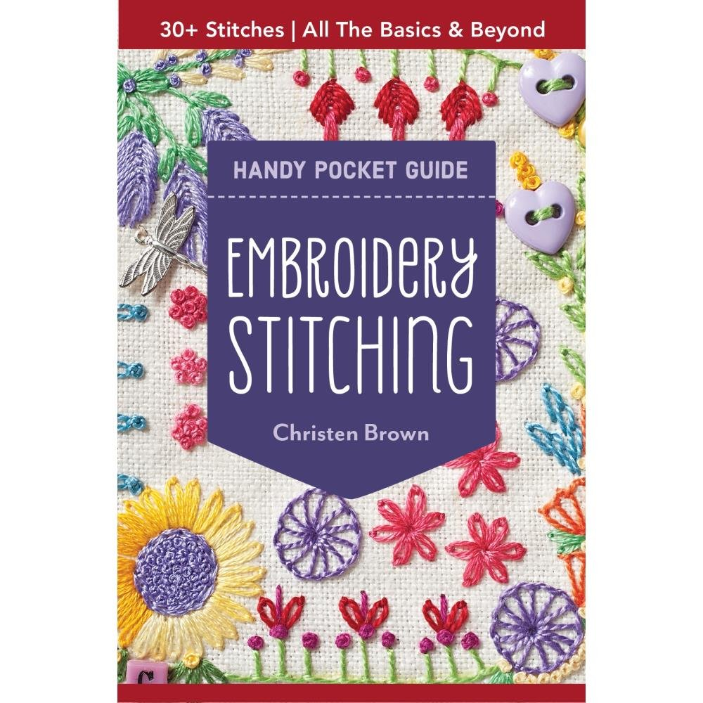 Embroidery Stitching Handy Pocket Guide