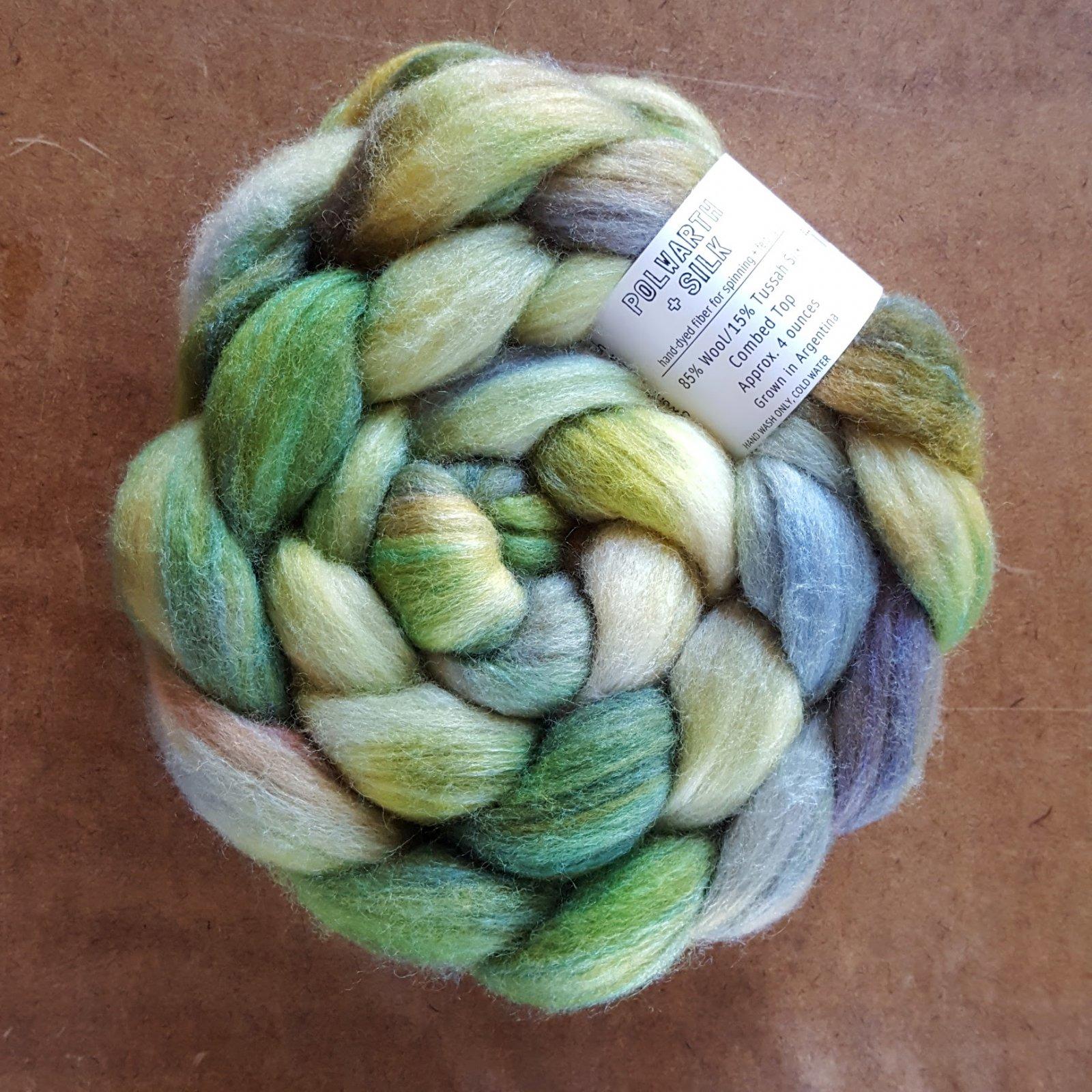 Polwarth/Silk, 4 oz
