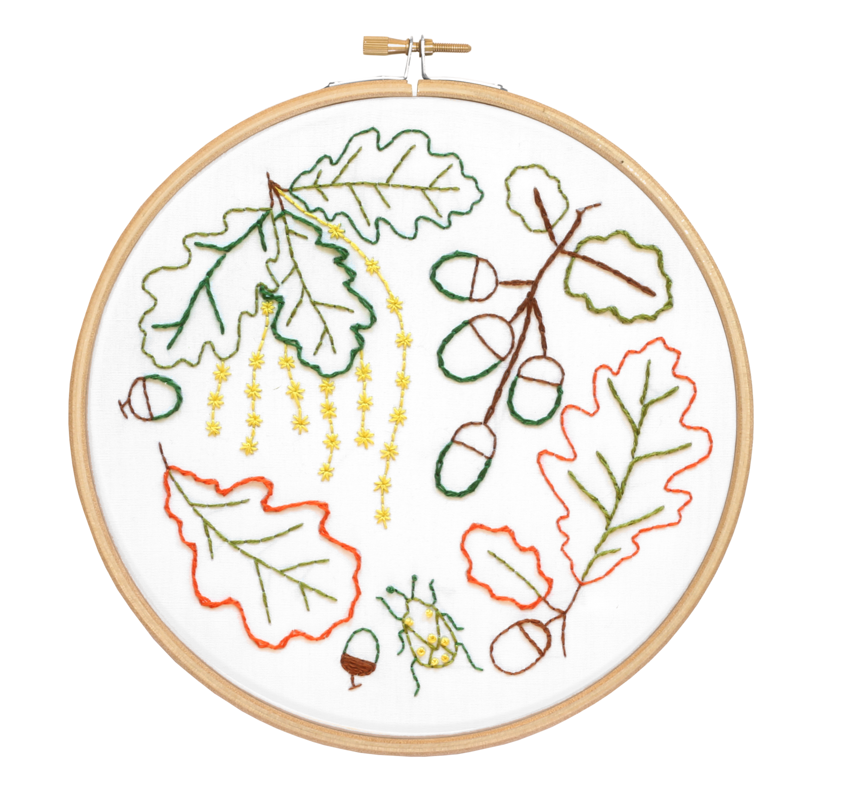 HH Embroidery Kit: Botanicals