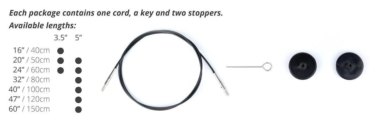 Lykke Cords for Long Tips