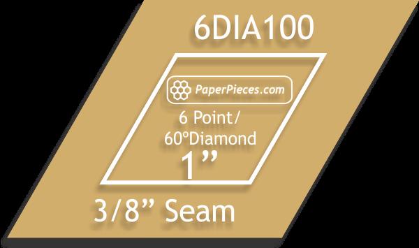 1 6 Point-60 Degree Diamonds