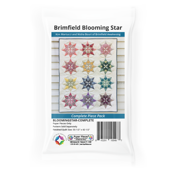 Brimfield Blooming Star-Complete Piece Pack