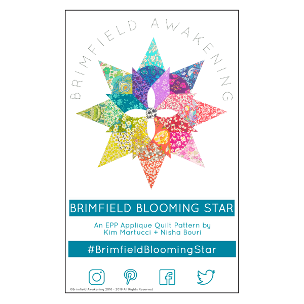 Brimfield Blooming Star-Pattern Only