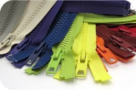9 Zippers (Assorted Colors)