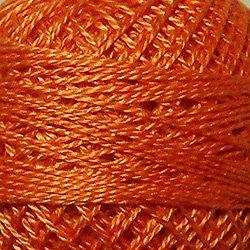 Valdani Pearl Cotton SZ12 109yd -Peach Orange-72