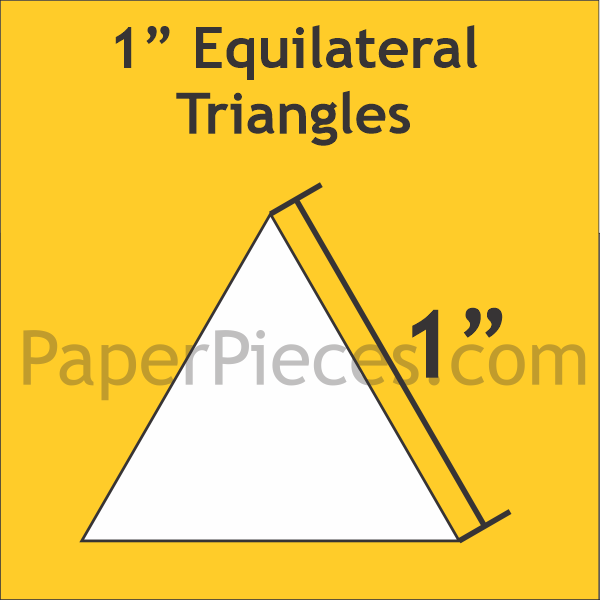 1 Equilateral Triangle: Small Pack? 100 Pieces
