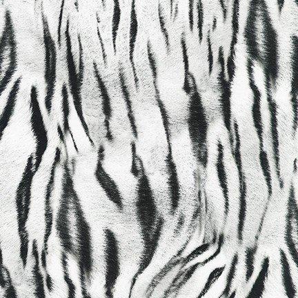 Animal Kingdom White Tiger Print