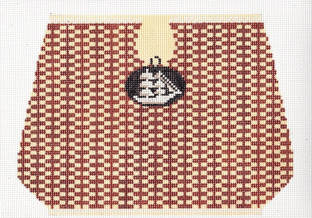 Basket Clutches:Large Basket with Ship