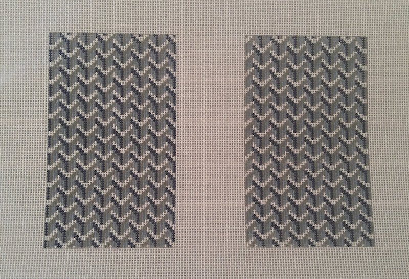 Y Pattern:Y Pattern Clutch Back Blue