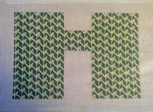 Y Pattern:Y Pattern Clutch Front Green