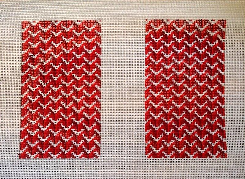 Y Pattern:Y Pattern Clutch Back Red
