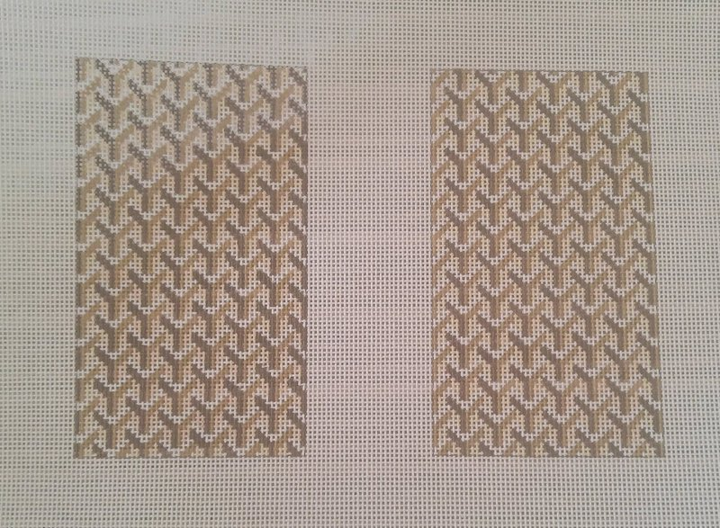 Y Pattern:Y Pattern Clutch Back Tan
