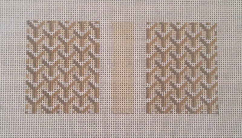 Y Pattern:Y Pattern Eyeglass Single Tan