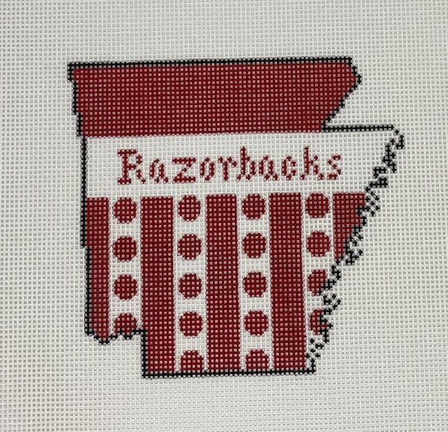 Arkansas w/Razorbacks