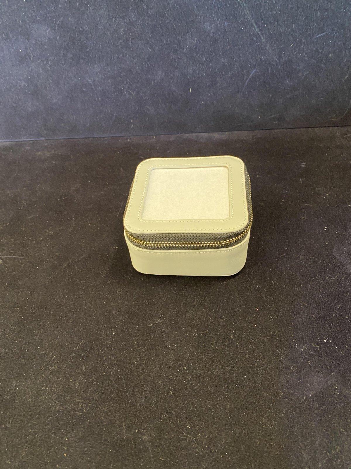 Leather Square Jewelry Box