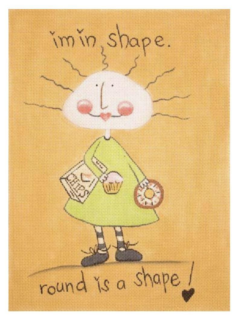 I'm In Shape © Pam Warden/Applejack Licensing