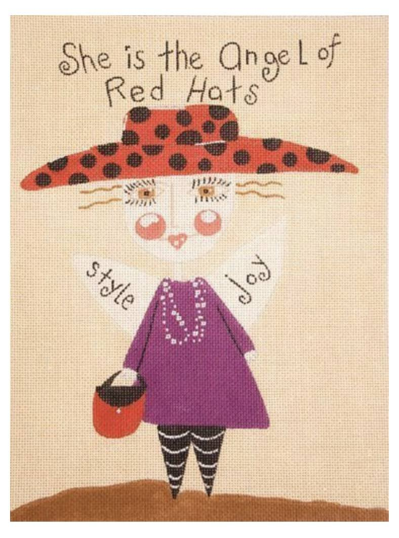 Angel of Red Hats © Pam Warden/Applejack Licensing