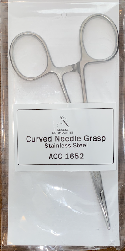 Curved Needle Grasp