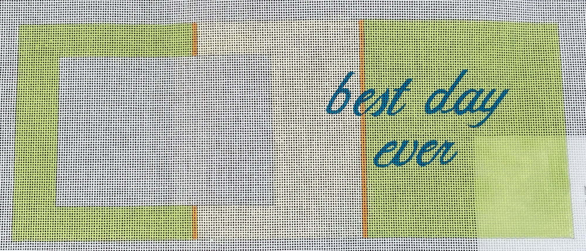 Best Day Ever Green and Cream Frame