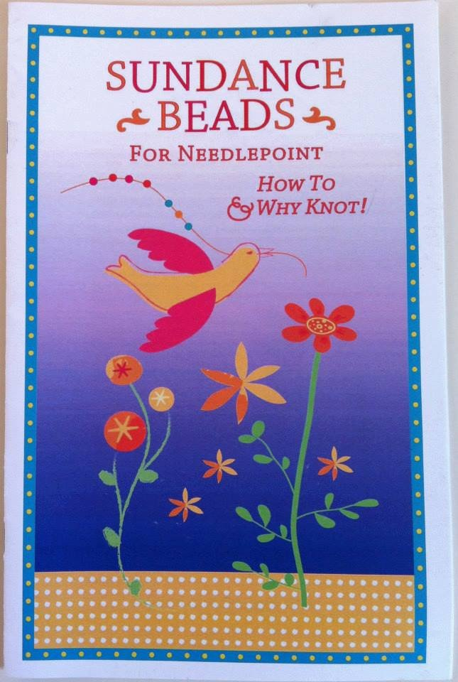 Sundance Beads for Needlepoint - How to and Why Knot!