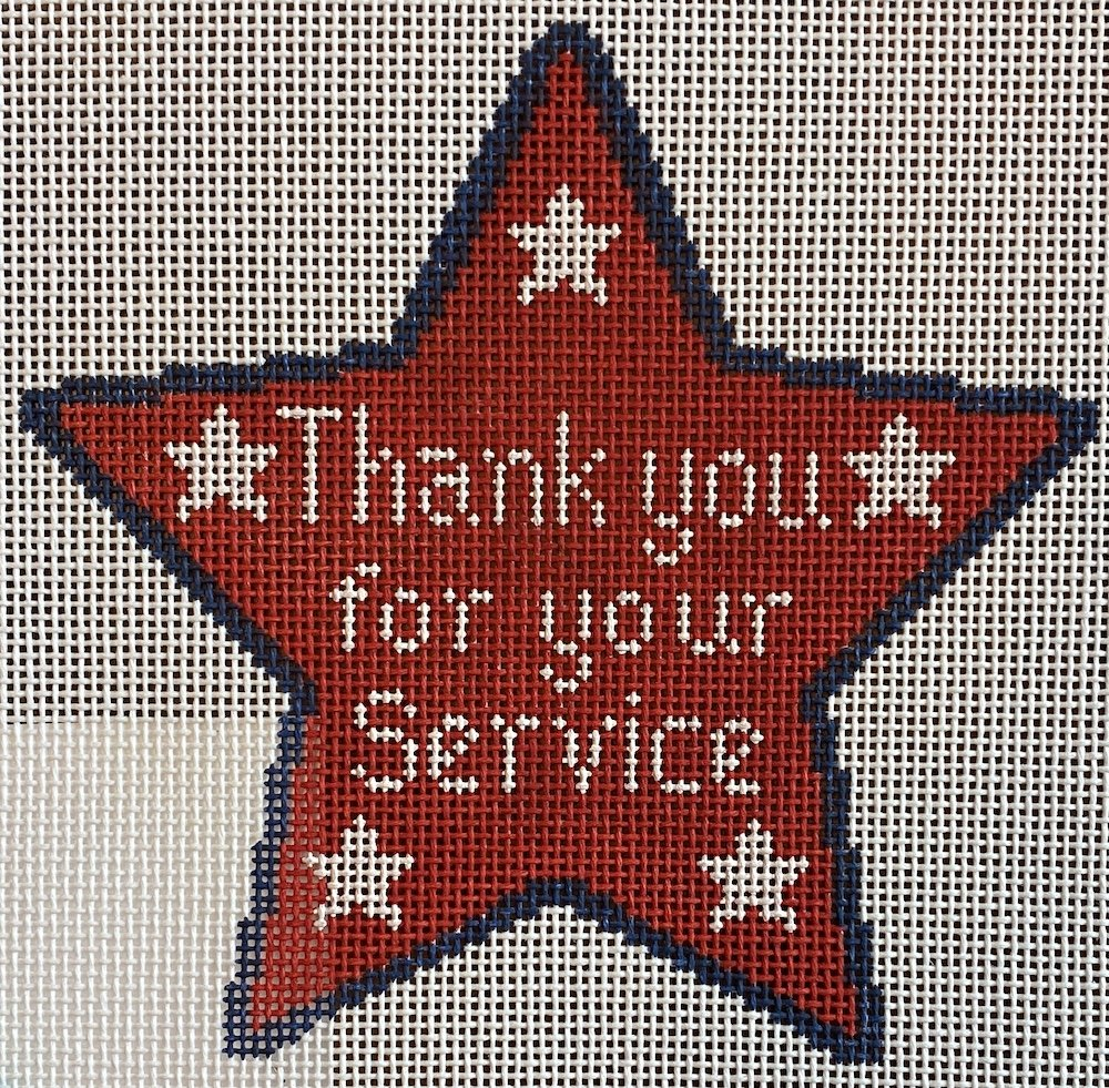 Thank You For Your Service Star