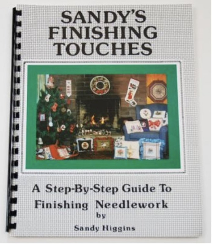 Sandy's Finishing Touches Book