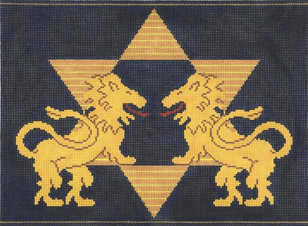 Lions with Striped Star Tallis