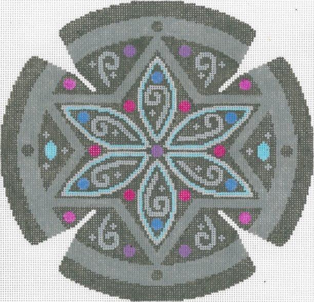 Jeweled Circle Yarmulke