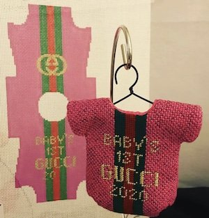 Baby's First Gucci Inspired Fuchsia
