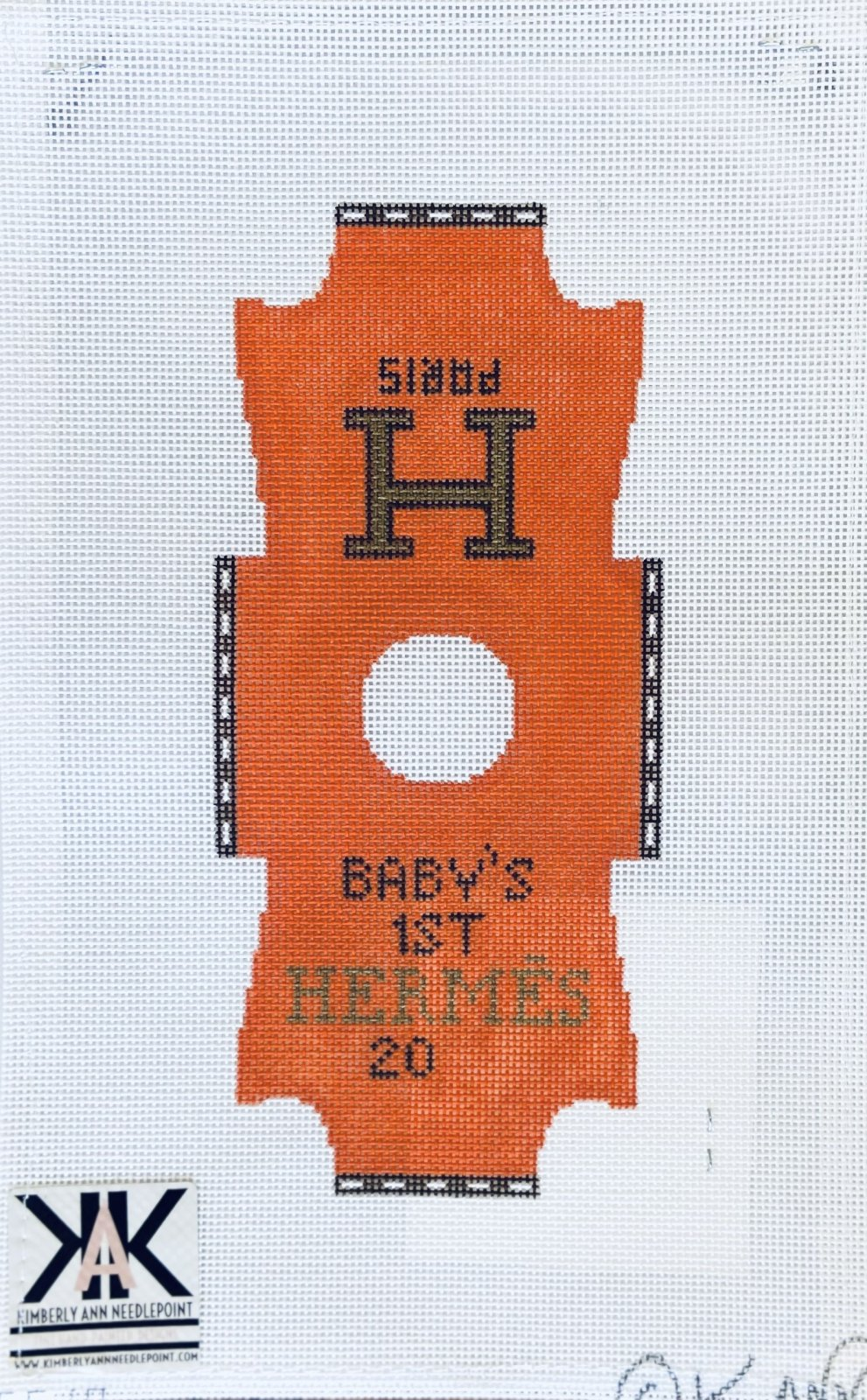 Baby's First Inspired by Hermes Onesie