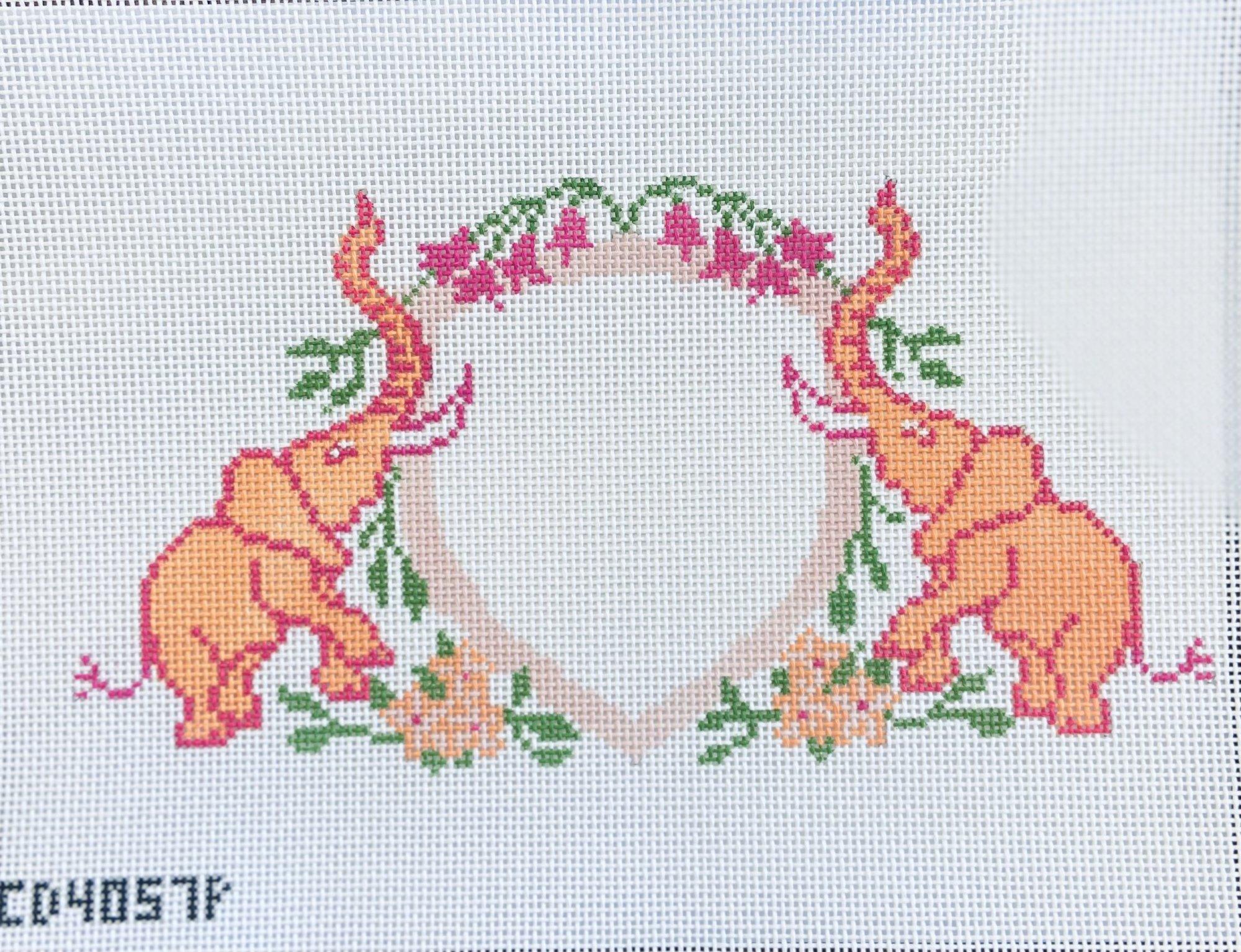 Baby Elephant Crest pink