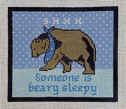 Someone is Beary Sleepy