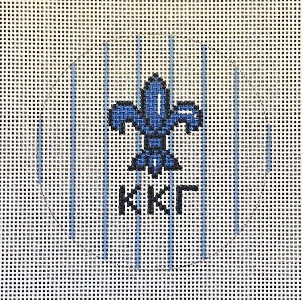3 round w/mascot-Kappa Kappa Gamma