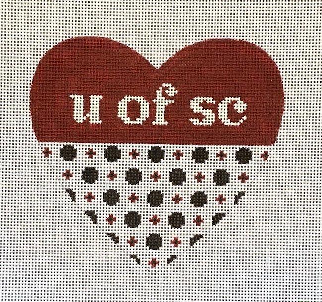 U of SC Heart - 13m