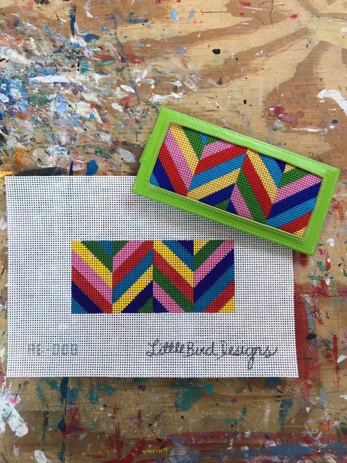 Multicolored V's