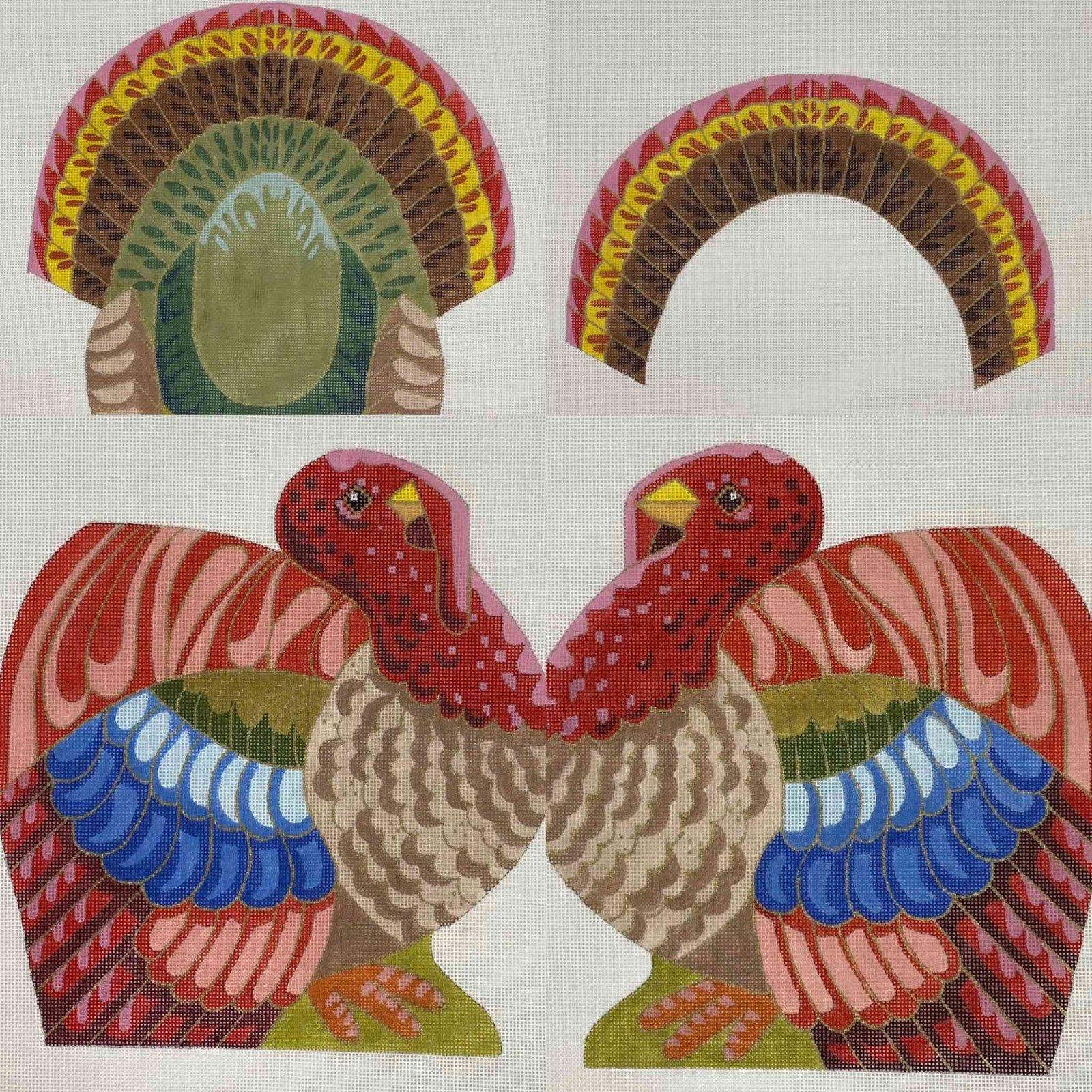 Elegant Turkey (4 canvases)