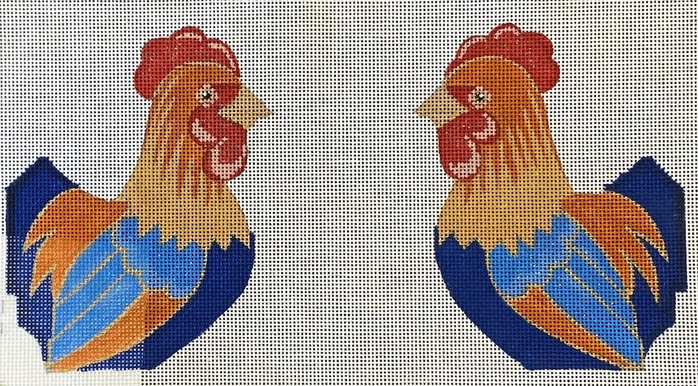 Rooster (two sided)