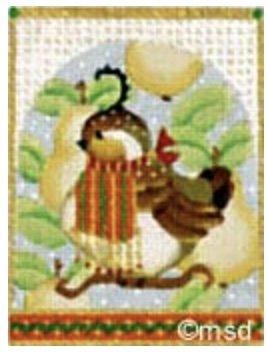 Partridge Ornament