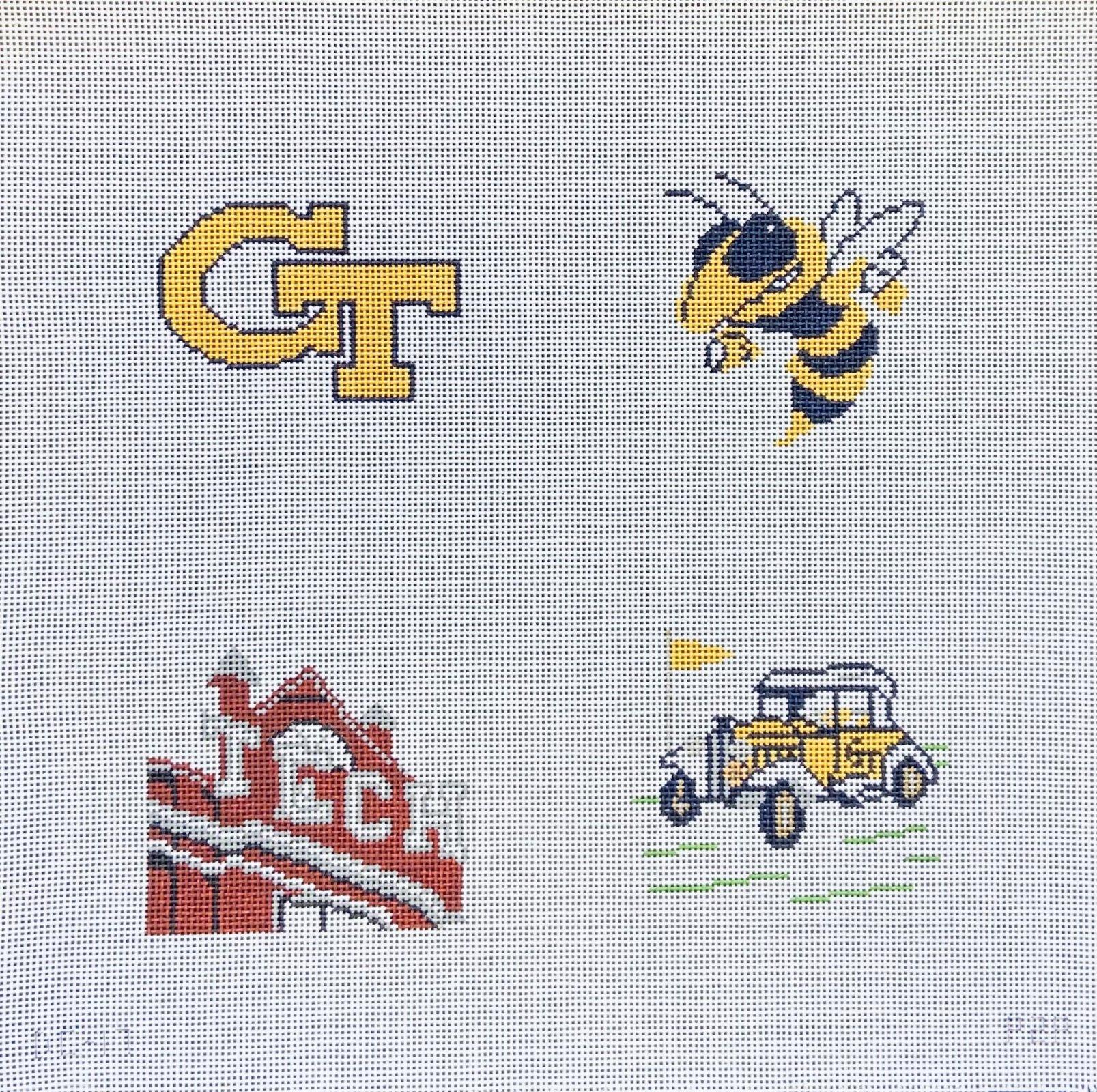 Georgia Tech Coaster Set