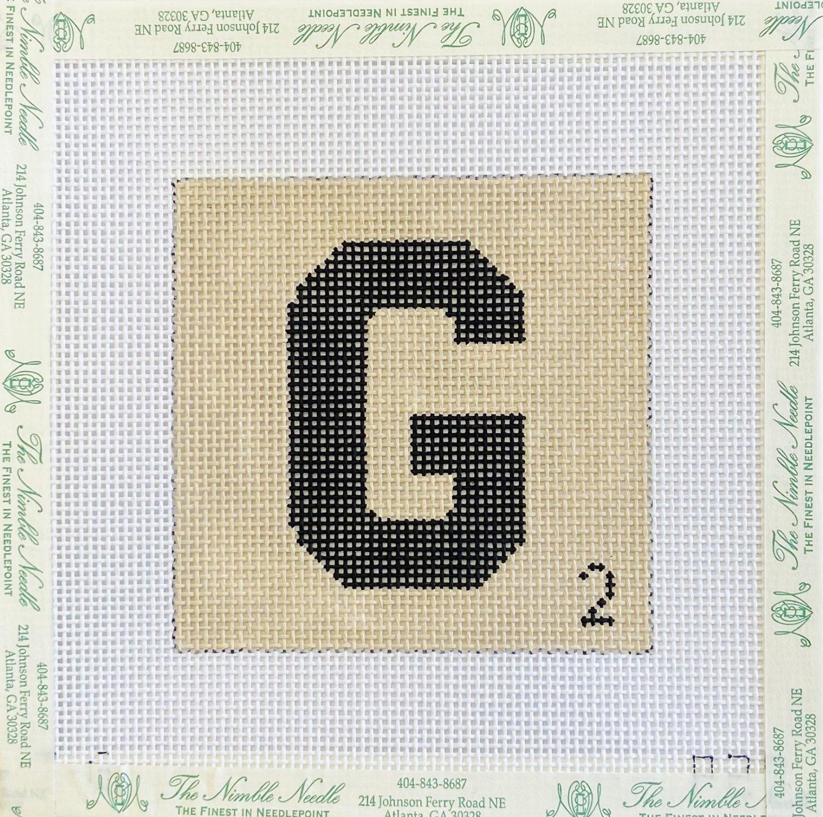 G Scrabble Tile Coaster