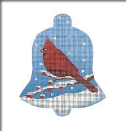 Cardinal Snow Bell, Male