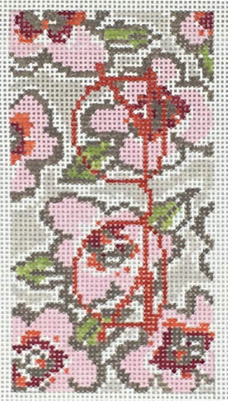 Pink Flowers Eyeglass Case