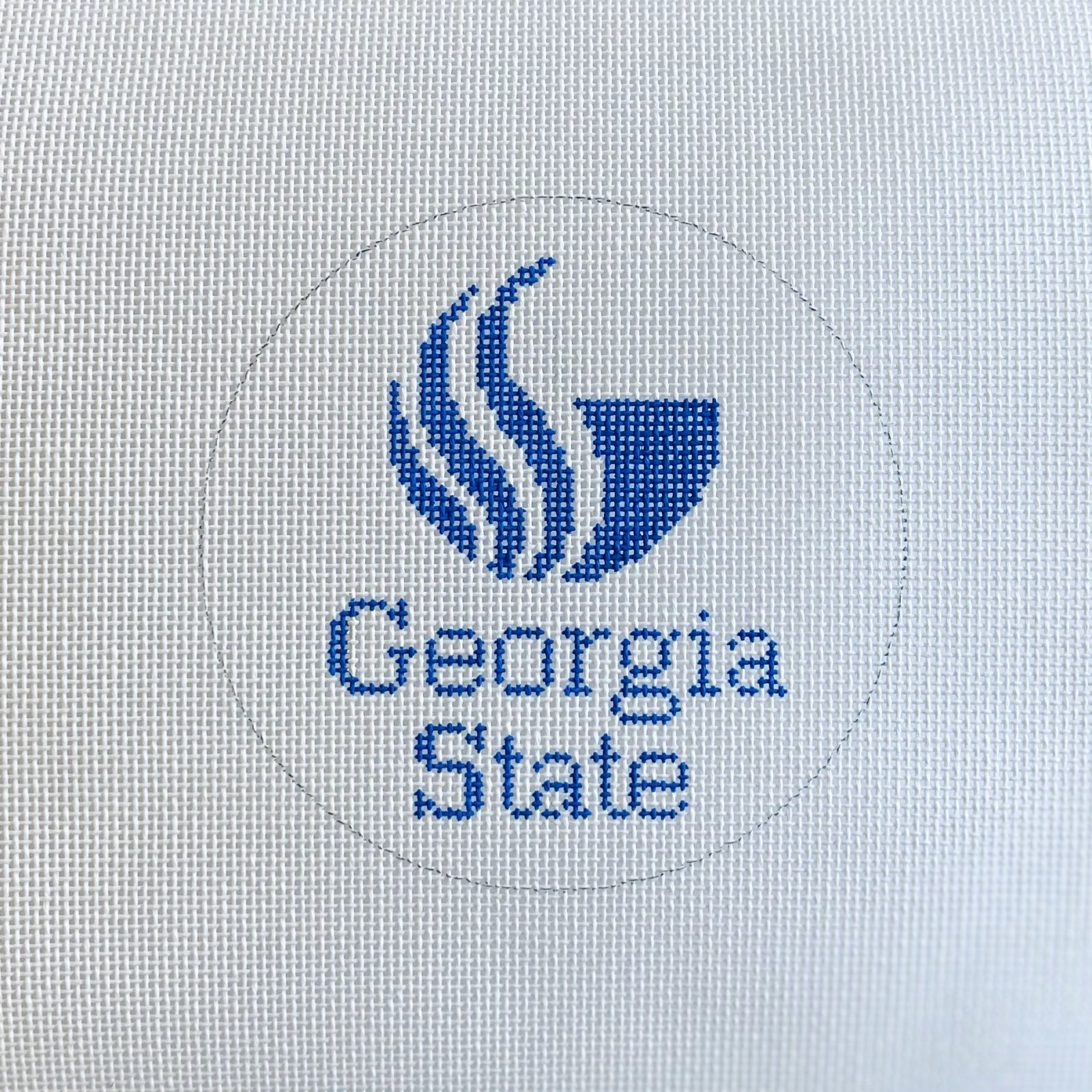 Georgia State Logo Round