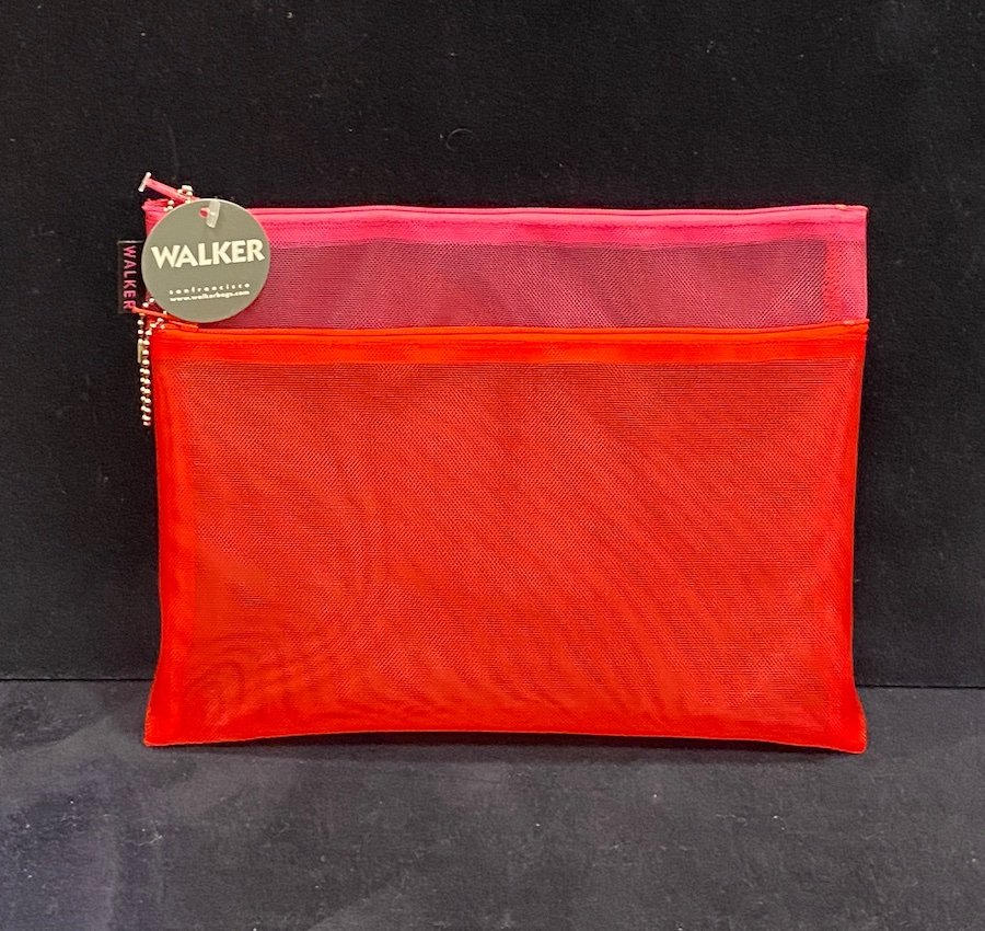 Walker Bag-Double Zip Case 7 x 9
