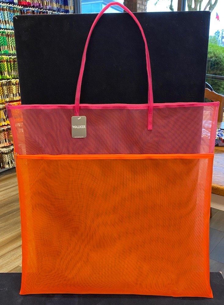 Walker Bag-Double Zip with Handle 24