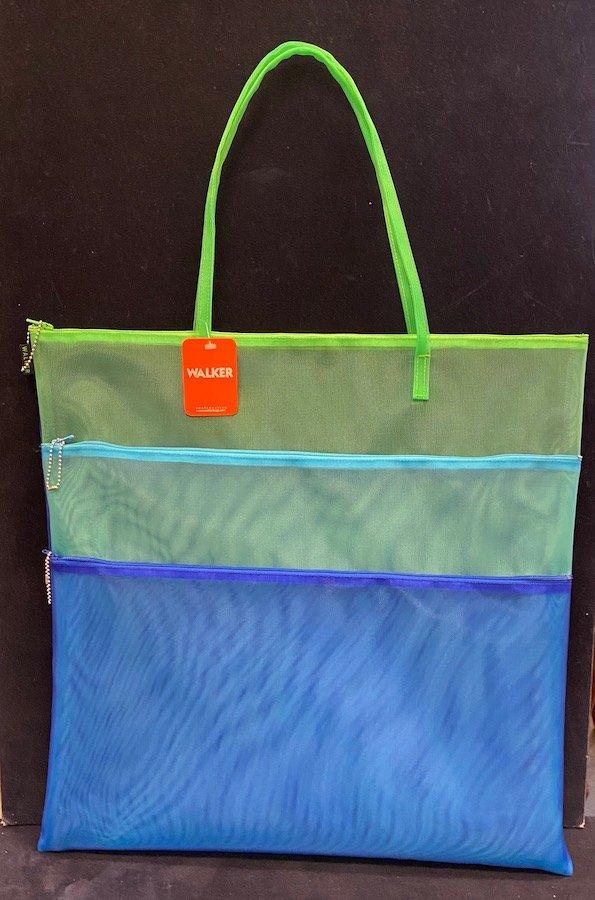 Walker Bag-Triple Zip with Handle 18